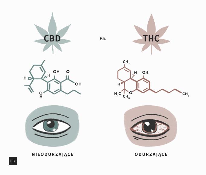 CBD a THC